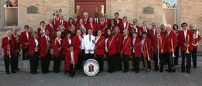 Newmarket Citizens Band at the Old Town Hall Newmarket, Ontario