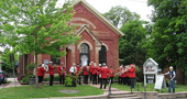Opening of the Elman W Campbell Museum 140th Band Anniversary Display