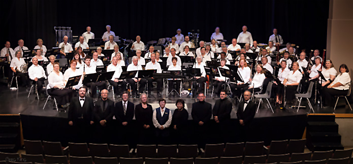Newmarket Citizens Band with massed band of the CBW 2014 Fall Community Band Weekend