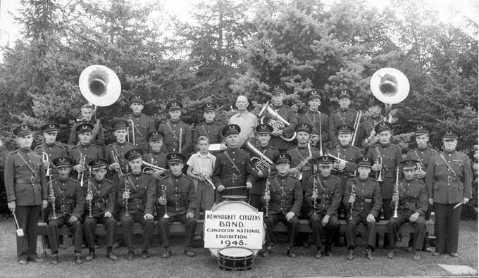 Newmarket Citizens Band at C.N.E. 1948